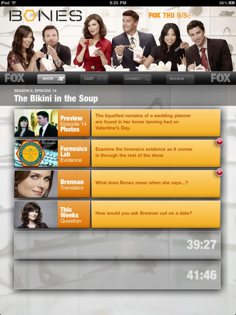 interactive episode.