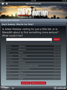 Grey's Anatomy Sync App Episode 3 Discussion