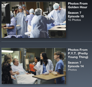 Greys Anatomy Sync App Episode 3 Photo Gallery 1