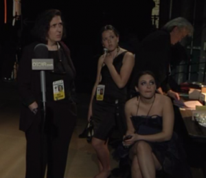 ABC Oscar Backstage Pass No Shoes