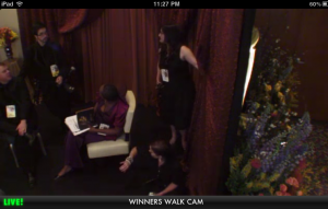 ABC Oscar Backstage Pass Grab a Seat