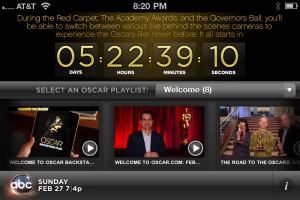 ABC Oscar Backstage Pass Countdown