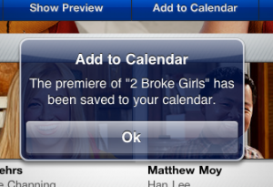 CBS Fall Preview App 2011 2 Broke Girls
